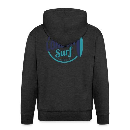 London Surf Classic Logo - Men's Premium Hooded Jacket