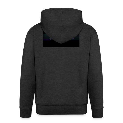 LOGO_Banner_Childs - Men's Premium Hooded Jacket
