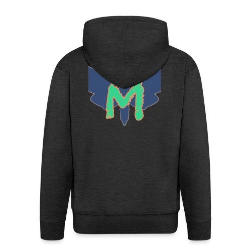 Mothy Ultimatum Logo - Men's Premium Hooded Jacket