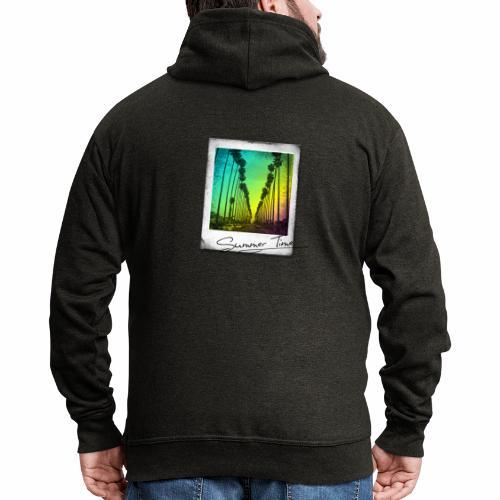 Summer Time - Men's Premium Hooded Jacket