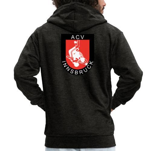 AC Vollkraft Logo - Männer Premium Kapuzenjacke