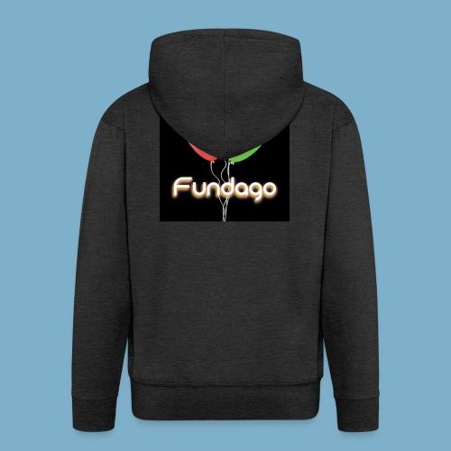 Fundago Ballon - Männer Premium Kapuzenjacke