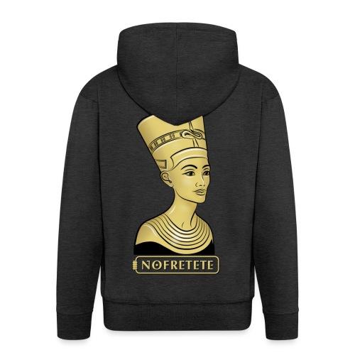 Nofretete I Königin von Ägypten - Männer Premium Kapuzenjacke