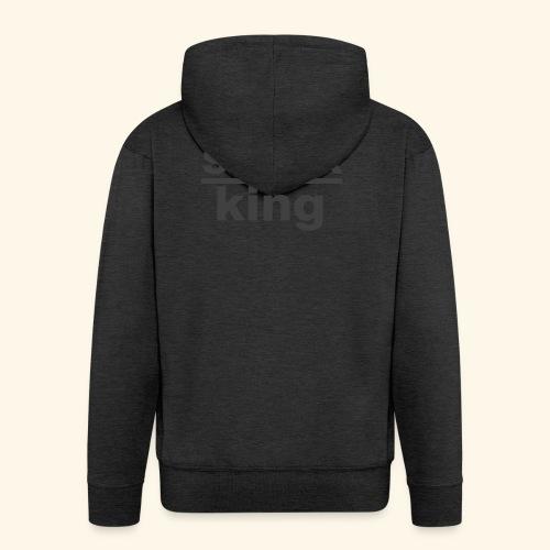 shock king funny - Felpa con zip Premium da uomo