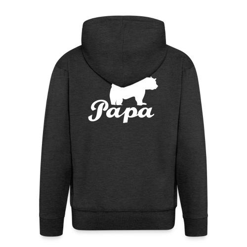 papa beer - Mannenjack Premium met capuchon