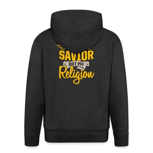 Jesus ist mein Erlöser - Männer Premium Kapuzenjacke