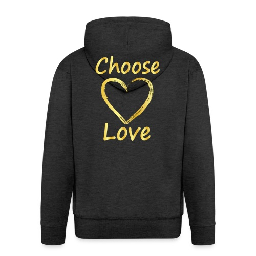 Love - Men's Premium Hooded Jacket