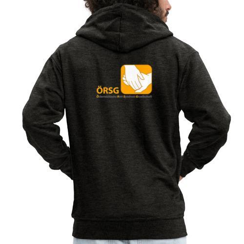 Logo der ÖRSG - Rett Syndrom Österreich - Männer Premium Kapuzenjacke