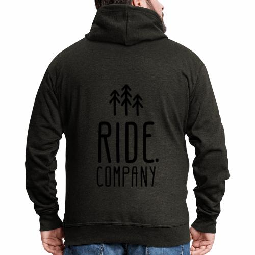 RIDE.company Logo - Männer Premium Kapuzenjacke
