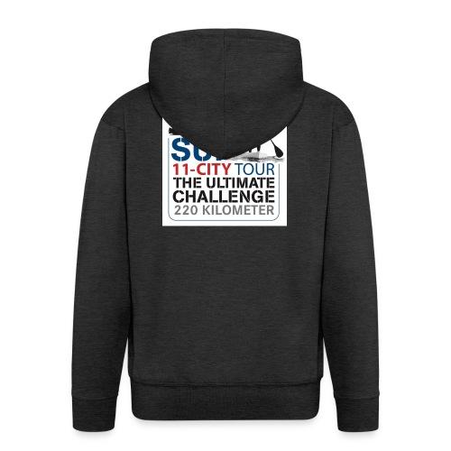 SUP11 City Tour Logo Shirt - Men's Premium Hooded Jacket