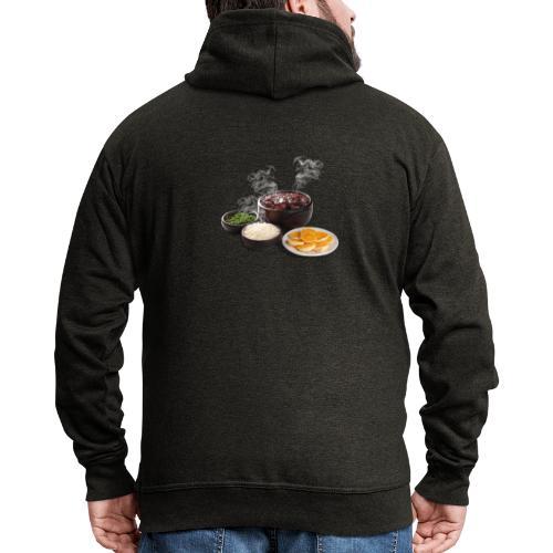 Feijoada - Men's Premium Hooded Jacket