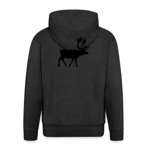 16593-illustrated-silhouette-of-a-reindeer-pv - Premium-Luvjacka herr