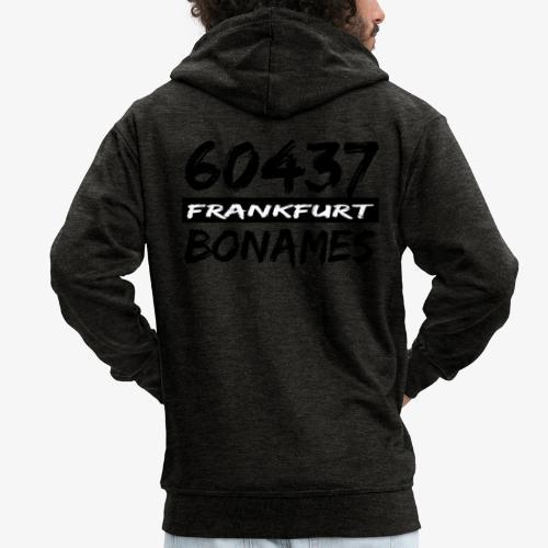 60437 Frankfurt Bonames - Männer Premium Kapuzenjacke