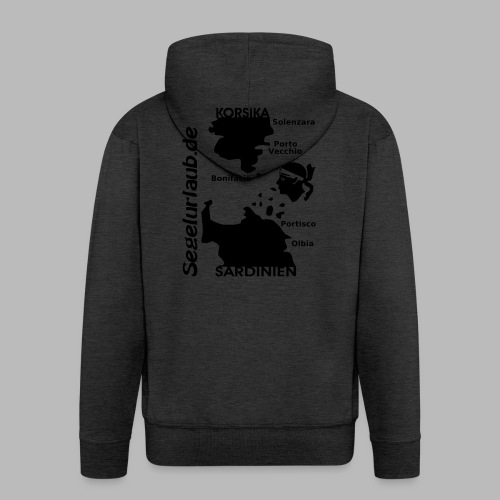 Korsika Sardinien Mori Shirt - Männer Premium Kapuzenjacke