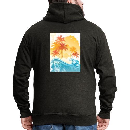 Palm Beach - Men's Premium Hooded Jacket