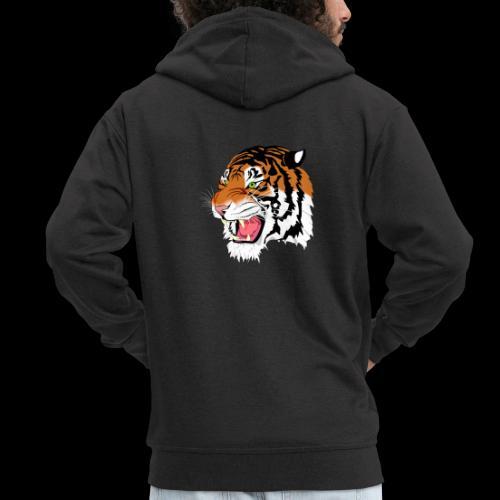 Sumatra Tiger - Männer Premium Kapuzenjacke