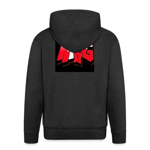 MiniRageGamer Official Merchandise - Men's Premium Hooded Jacket