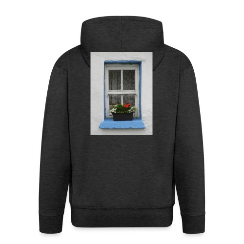 Cashed Cottage Window - Men's Premium Hooded Jacket