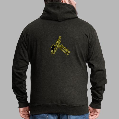 Battle Rope Workout - Männer Premium Kapuzenjacke