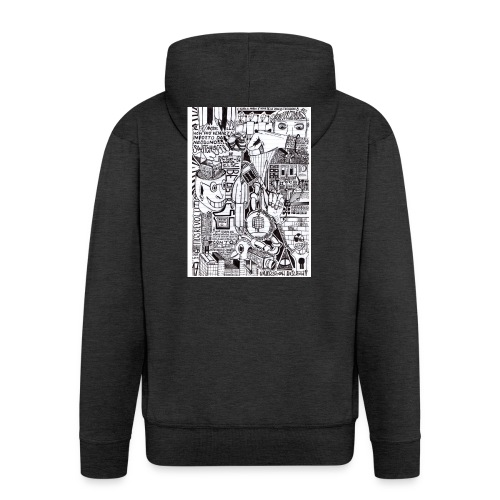 Trip T-Shirt - Felpa con zip Premium da uomo