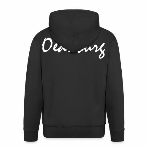 Oednburg Wit - Mannenjack Premium met capuchon