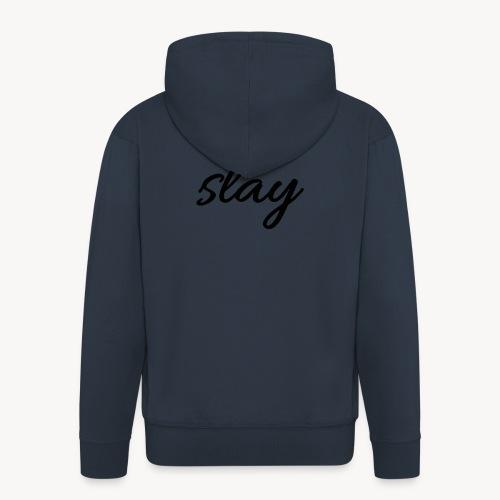 SLAY - Miesten premium vetoketjullinen huppari