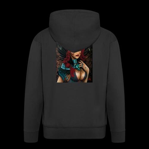 Nymph - Men's Premium Hooded Jacket