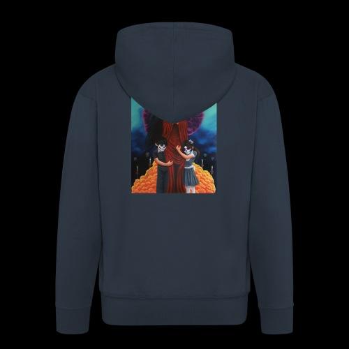 los fieles difuntos - Men's Premium Hooded Jacket