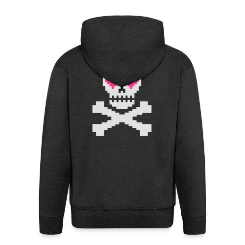 Skull Love - Mannenjack Premium met capuchon