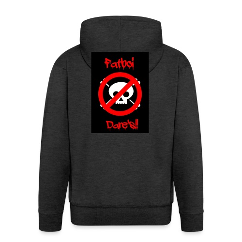 Fatboi Dares's logo - Men's Premium Hooded Jacket