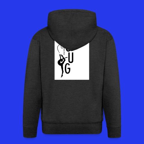 GUG Logo - Männer Premium Kapuzenjacke