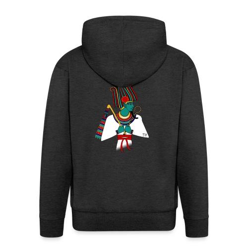Osiris I altägyptische Gottheit - Männer Premium Kapuzenjacke