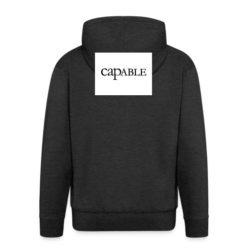 untitled-jpg - Rozpinana bluza męska z kapturem Premium