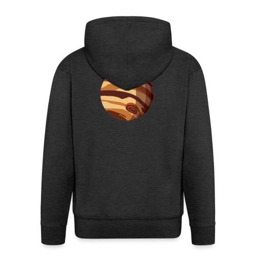 Jupiter - Felpa con zip Premium da uomo