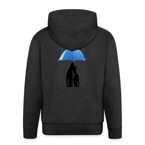 Love under the umbrella - Mannenjack Premium met capuchon