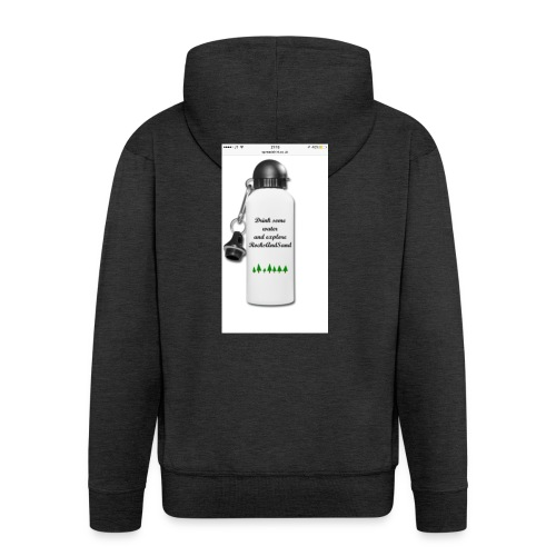 RocksAndSand adventure bottle - Men's Premium Hooded Jacket