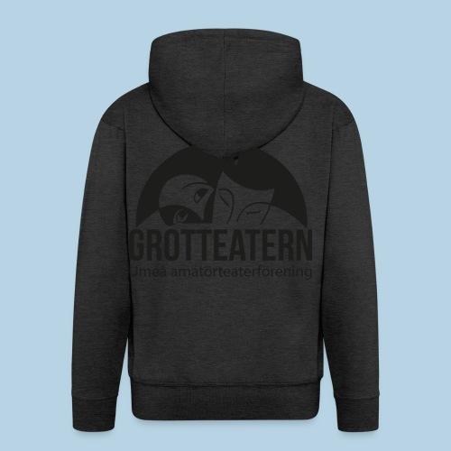 Grotteatern logo svart - Premium-Luvjacka herr