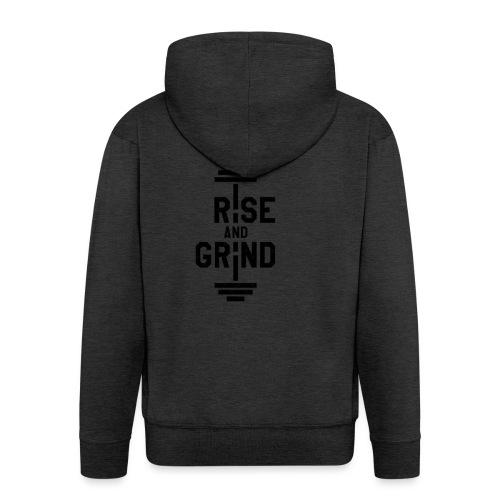 Rise and Grind - Premium Hettejakke for menn