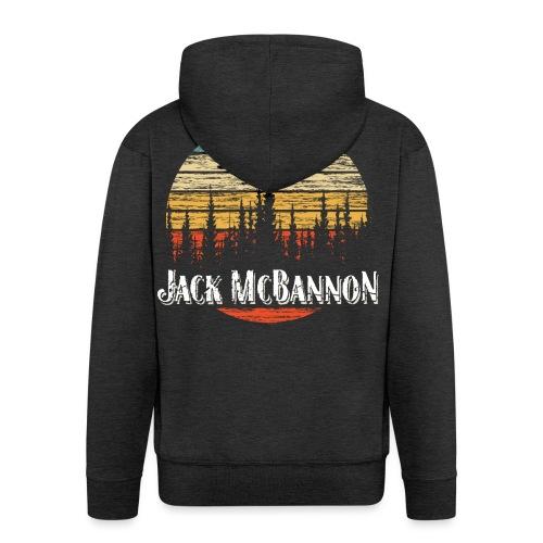 Jack McBannon - Forest Sundown - Männer Premium Kapuzenjacke