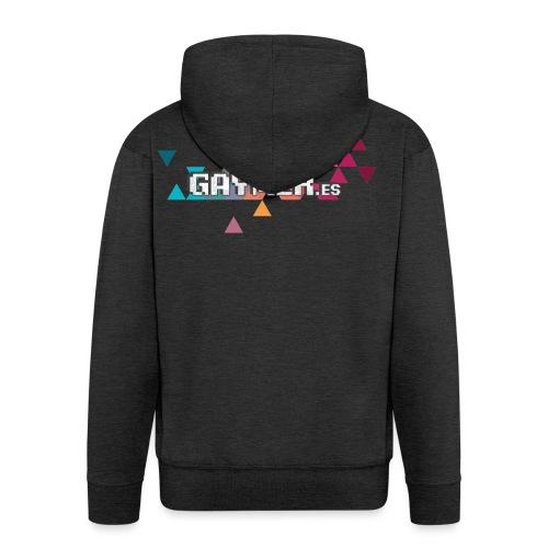 Logo Gaymer.es - Chaqueta con capucha premium hombre