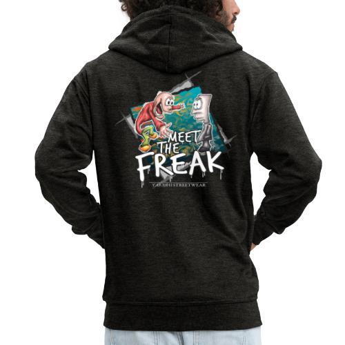 meet the freak - Männer Premium Kapuzenjacke
