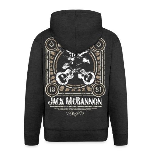 Jack McBannon - Vintage Eagle - Männer Premium Kapuzenjacke