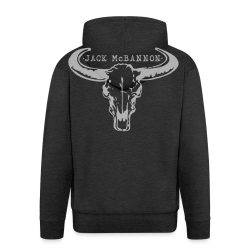 Jack McBannon - Bull Head - Männer Premium Kapuzenjacke