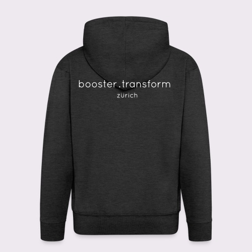 booster.transform zürich - Men's Premium Hooded Jacket