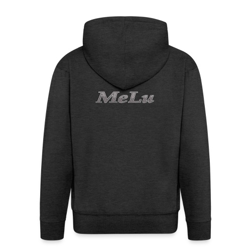 MeLu_Text - Mannenjack Premium met capuchon