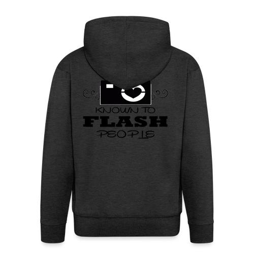 Photographer - Men's Premium Hooded Jacket