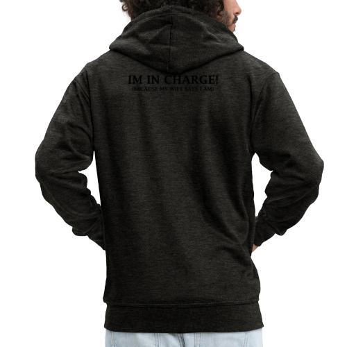 IM IN CHARGE - Men's Premium Hooded Jacket