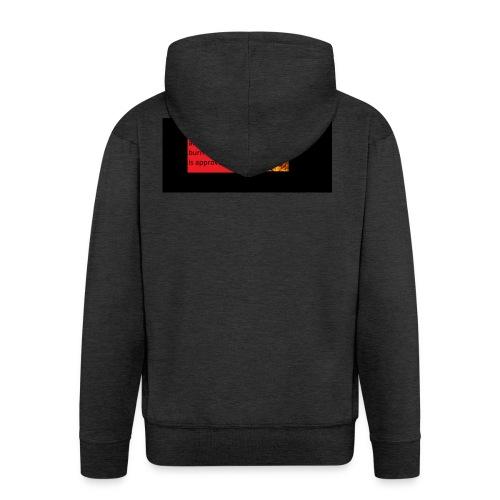 crash and burn - Men's Premium Hooded Jacket