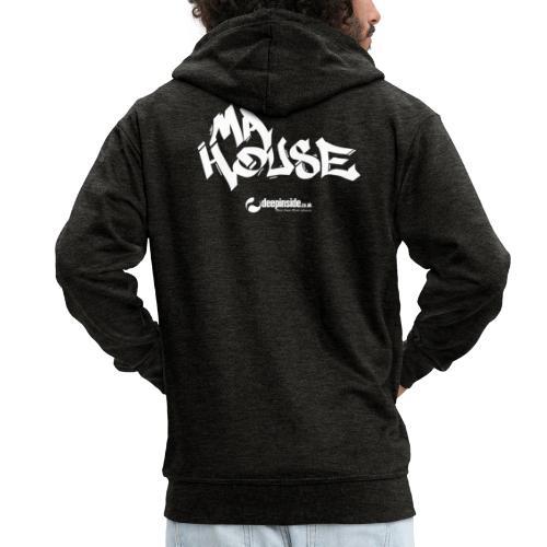 My House * by DEEPINSIDE - Men's Premium Hooded Jacket