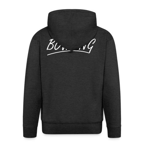 Bowling souligné - Veste à capuche Premium Homme